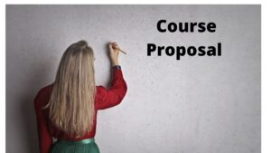 How to Write Course proposal template?